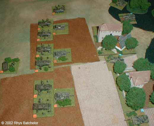 Russian Motor rifle battalion attacking a British defensive line. OK, so its staged!